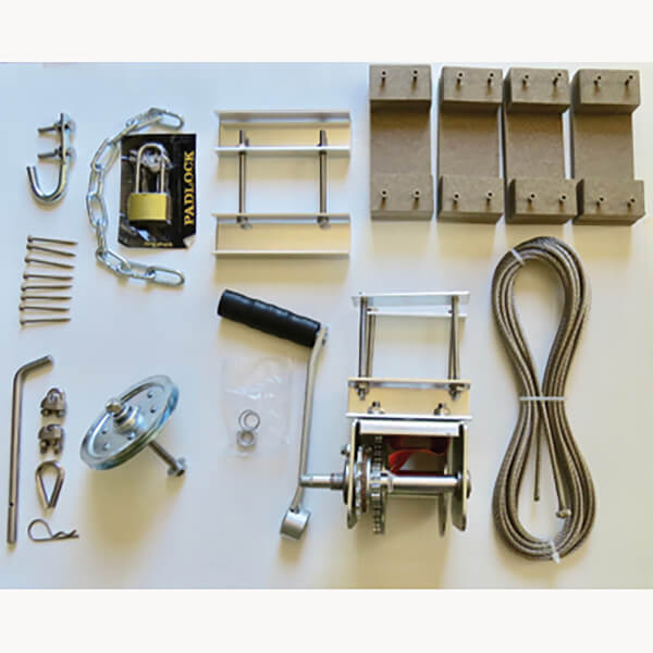 Troyer's T-14 Pole Mounting Kit for Aluminum Pole