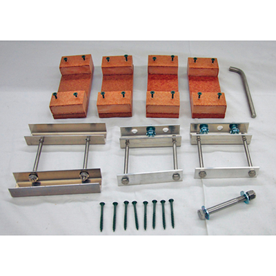 Troyer's T-14 Wooden Pole to Aluminum T-14 Pole Conversion Kit