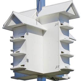 Troyer's Poly-wood T-14 Purple Martin House