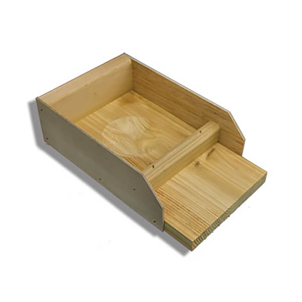 Troyer's T-14 House Pull-out Wooden Nest Tray