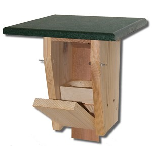 Troyer's Sparrow-resistant Bluebird House